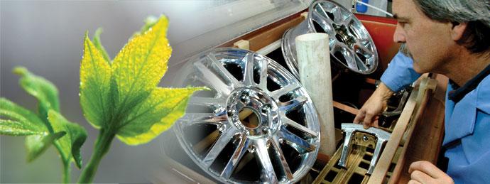 Environmentally Friendly Wheel Coatings